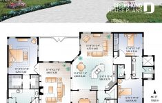 Three Bedroom House Plan And Design Beautiful Mediterranean 3 Bedroom House Plan With 13 Ceilings Double
