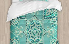 Turquoise Duvet Cover Twin Xl Inspirational Amazon Ambesonne Turquoise Duvet Cover Set Twin Size