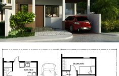 Two Floor Home Design Fresh Small Home Design Plan 7x9m With 2 Bedrooms