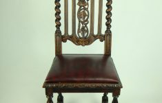 Victorian Antique Furniture For Sale Beautiful Antique Victorian Gothic Oak Chair With Leather Seat