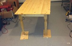 Waddell Table Legs Instructions Luxury Turned Leg Farmhouse Table