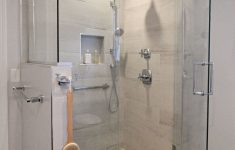 Walk In Shower Ideas With Seat Elegant A Pleted Master Bathroom Remodel By Renovisions Walk In
