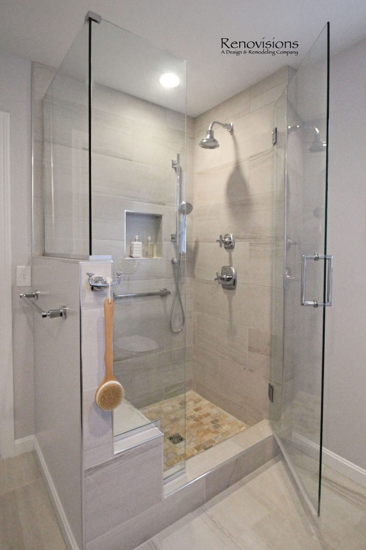 Walk In Shower Ideas with Seat 2020