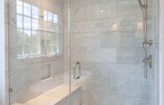 Walk In Shower Ideas With Seat Fresh Walk In Glass Shower With Built In Shower Seat And Marble