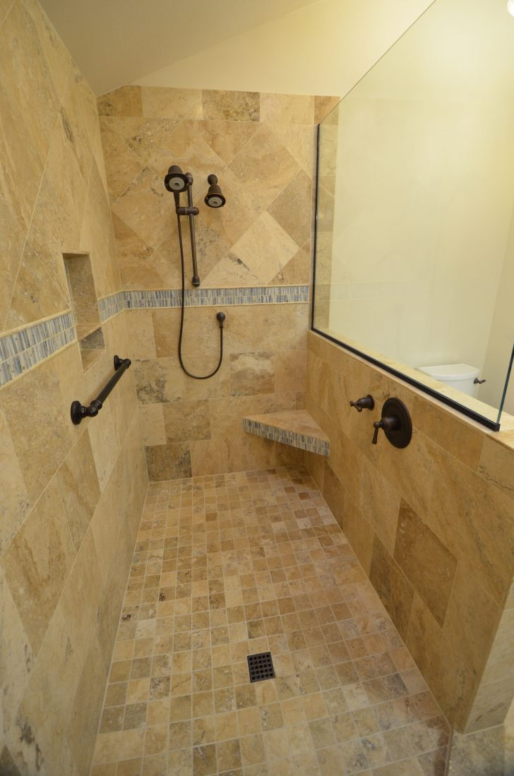 Walk In Showers without Doors 2021