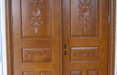 Wood Main Door Design India Inspirational Teak Wood Front Double Door Designs