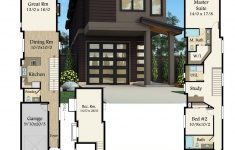 10 Feet Wide House Plans Fresh Narrow Modern House Plan With Modern Styling And Affordable
