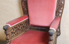 19th Century Antique Furniture New 19th Century Anglo Indian Carved Armchair 4855 La