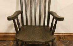 19th Century Antique Furniture Unique 19th Century Slat Back Grandfather Chair Or Fireside Chair