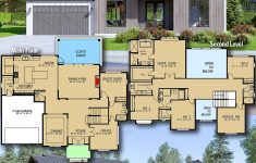 2 Story Contemporary House Plans Inspirational Plan Raf Modern 5 Bed House Plan With 2 Story Foyer