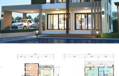 5 Bedroom Modern House New House Design Plan 13x12m With 5 Bedrooms