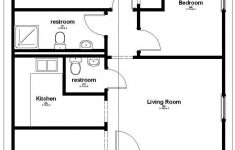 Affordable Home Floor Plans Inspirational Affordable Housing Floor Plan 858 Sq Ft House