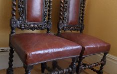 Antique Barley Twist Furniture Luxury Antique Pair Jacobean Barley Twist Chairs In An Oil Cloth