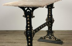 Antique Cast Iron Furniture Fresh Cast Iron Table Base With Red Marble Top