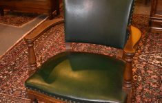 Antique Executive Office Furniture Unique Antique Signed Green Leather Walnut Fice Chair Horrocks