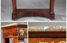Antique French Furniture For Sale New Italian Marble Marquetry Gueridon Table