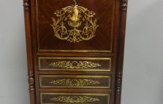 Antique French Furniture Sale Lovely French Brass Inlaid Escritoire Bureau In 2020