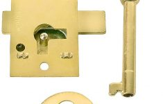 Antique Furniture Locks And Keys Elegant Small Brass Plated Non Mortise Cabinet Lock
