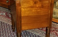 "Antique Furniture Mobile Al Awesome C1840 Southern Two Drawer Stand Attr Mobile Alabama Walnut Cochran 23""w"