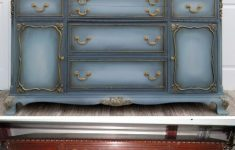 Antique Furniture Refinishing Techniques Fresh Blended Blue Buffet In 2020