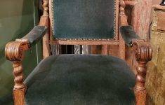 Antique Hand Carved Furniture Fresh Antique Hand Carved Green Man Scrolled Armchair Green Upholstery
