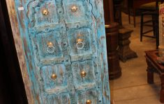 Antique Hand Carved Furniture Lovely Antique Indian Small Hand Carved Blue Chest Armoire