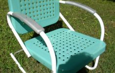 Antique Metal Outdoor Furniture Awesome Vtg 50s 60s Retro Outdoor Metal Lawn Patio Porch Rocking
