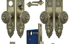 Antique Reproduction Hardware For Furniture Unique Victorian Double Door Entry Set Gothic Antique Reproduction With Lion Door Knobs L26dbs1