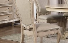 Antique White Dining Room Furniture Lovely Mcferran D9802 6060 Dining Table Set 7 Pcs In Antique White Linen