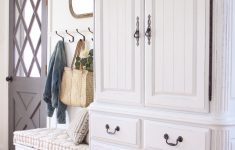 Antique White Distressed Furniture Beautiful Armoire Makeover How To Antique Furniture Love Grows Wild