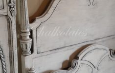 Antique White Distressed Furniture Fresh Custom Painted Bed Frame By Chalkolates Shabby White