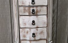 Antique White Distressed Furniture Unique Shabby Chic Antique White Distressed – Jewelry Armoire Pink