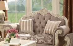 Antique White Living Room Furniture Best Of Acme Furniture Ragenardus Gray Antique White Loveseat With Two Pillows