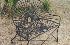 Antique Wrought Iron Outdoor Furniture Lovely Wrought Iron Style Settee Metal Patio Furniture
