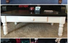 Antiquing Furniture With Paint And Stain Beautiful Coffee Table Refinish Hand Sanded Stained Painted And