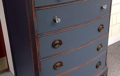 Antiquing Furniture With Paint And Stain Inspirational Beautiful Antique Dresser Painted In Steel Gray Chalk Paint