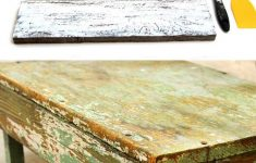 Antiquing Wood Furniture With Paint Fresh How To Distress Wood & Furniture 8 Easy Techniques & Videos