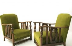 Art Deco Antique Furniture Fresh Vintage Art Deco Antique Design Green Armchairs Chairs Set 2