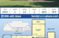 Barn Like House Plans Beautiful Traditional Style House Plan With 3 Bed 3 Bath 2