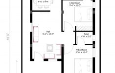 Best Plan For House Construction Inspirational 26x45 West House Plan