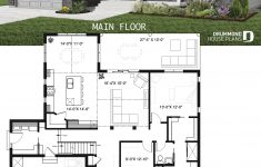 Big Garage House Plans Lovely E Storey Ranch House Plan With 2 Car Garage Large Kitchen