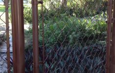 Brown Privacy Slats For Chain Link Fence Unique I Just Spray Painted My Chain Link Fence And Gate Looks So