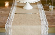 Burlap Table Runner With Lace Trim Inspirational 10 Country Chic & Rustic Wedding Tablescapes My Wedding