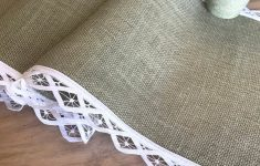 Burlap Table Runner With Lace Trim Lovely Fall Custom Burlap Table Runner Sage Country Wedding Linens White Lace Table Top Wedding Party Runners Vintage Inspired