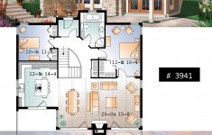Cabin House Plans With Basement Fresh House Plan Bay Breeze 3 No 3941