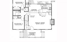 Cabin House Plans With Basement New Southern Style House Plan With 3 Bed 2 Bath