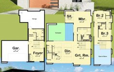 Cheap Two Story House Plans New Plan Dj Striking Modern House Plan With Courtyard And