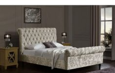 Chesterfield Fabric Sleigh Bed With Footboard Unique Carnforth Upholstered Sleigh Bed King
