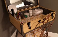 Craigslist Furniture Queens Free Stuff Luxury Diy Antique Suitcase Repurposed As A Vanity For My Guest