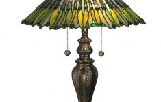 "Dale Tiffany Lamps History Best Of Dale Tiffany Tt Fieldstone 24"" Leavesley Table Lamp With 2 Lights"